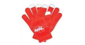 guanti Coca Cola touch screen