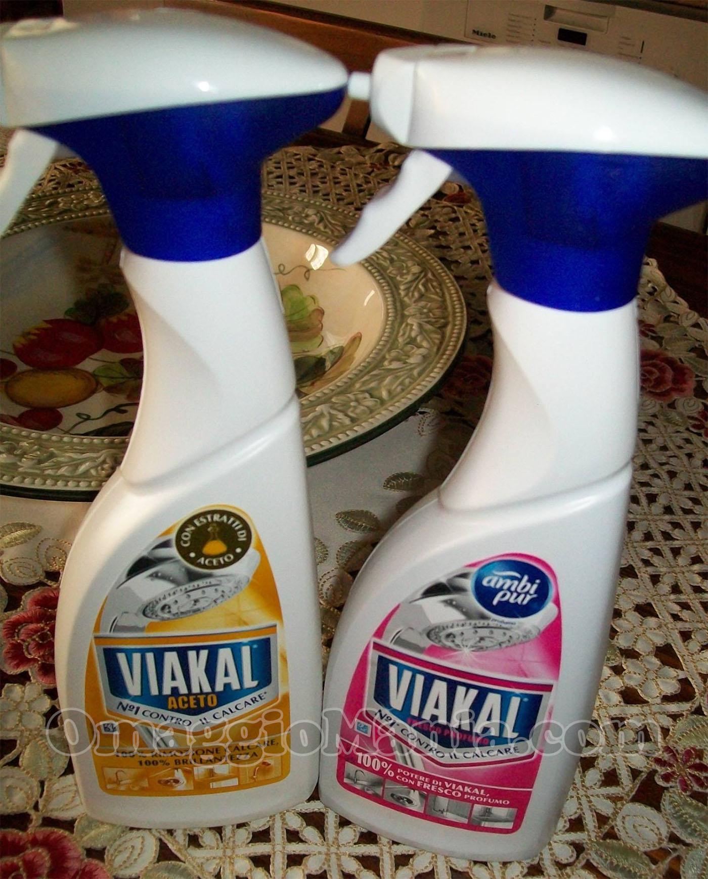 kit Viakal Spray di Elisa