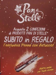 manifesto penna Pan di Stelle omaggio 2016