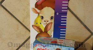 metro da parete per bambini Nipiol