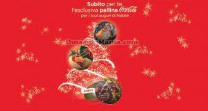 pallina Coca Cola Natale omaggio