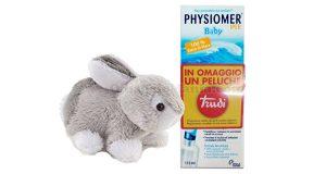 peluche Trudi omaggio con Physiomer Baby