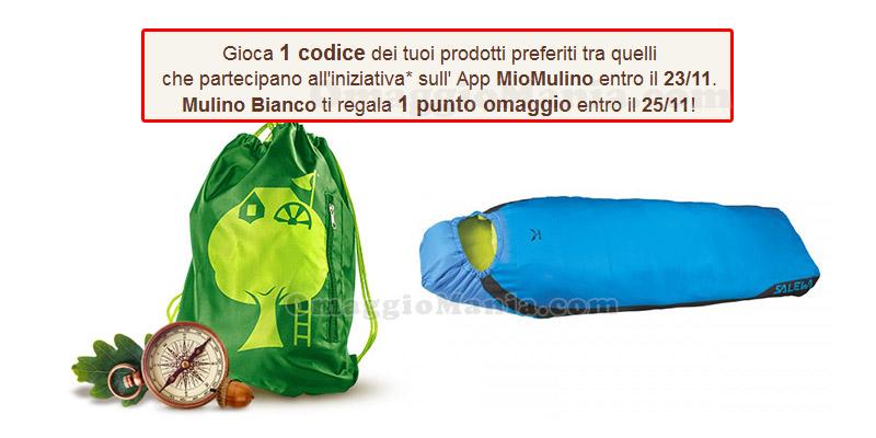 punto omaggio Mulino Bianco con App MioMulino 18-11-2016