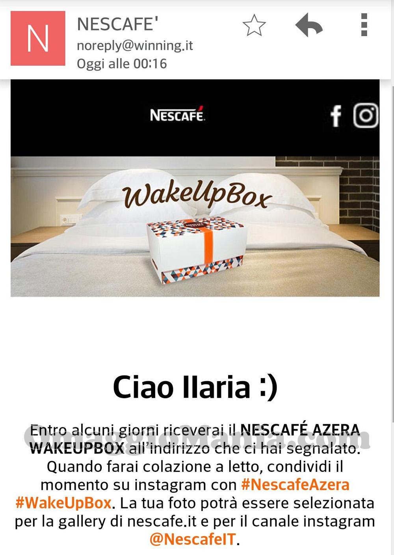 richiesta Nescafè di Ilaria