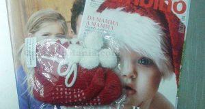 scarpine di lana omaggio con Io e il mio bambino dicembre 2016