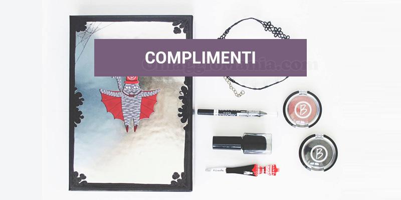 selezione tester Beautiful Box Glam Vamp Diaries