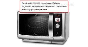 selezione tester forno CucinaBarilla The Insiders