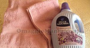 set asciugamani Gabel con Felce Azzurra di Maria Teresa