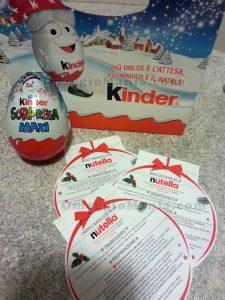 shopper Kinder e ricette Nutella di Sabry77