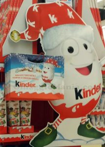 shopper di Natale Kinder 2016