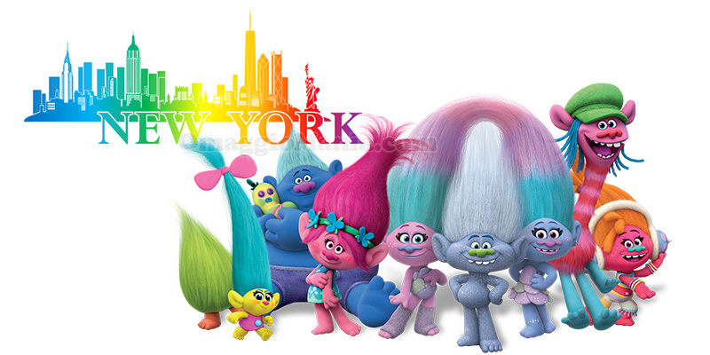 vinci New York con Trolls