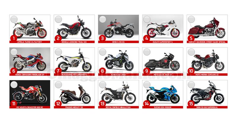 vota e vinci la moto più bella del salone EICMA 2016