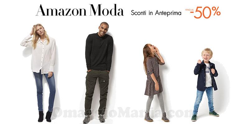 Amazon Moda sconti in anteprima dicembre 2016