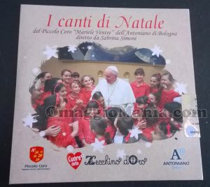 CD I Canti di Natale ricevuto da Stefano