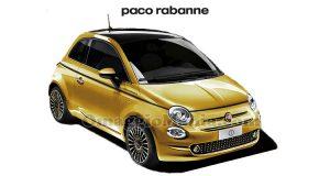 Fiat 500 Paco Rabanne