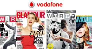 Glamour Wired con Vodafone