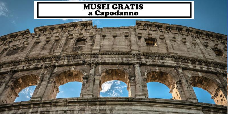 Musei gratis a Capodanno 2017 2