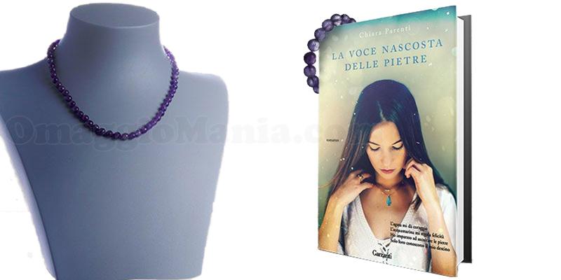 Prenota la voce nascosta delle pietre e vinci un gioiello personalizzato