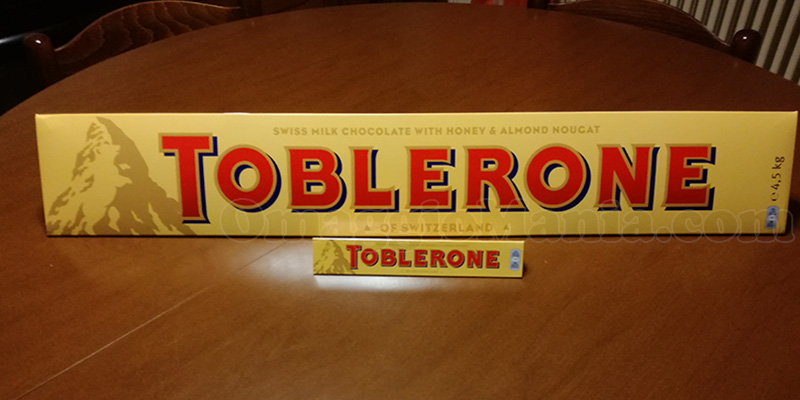 Toblerone 4.5 Kg di Riccardo