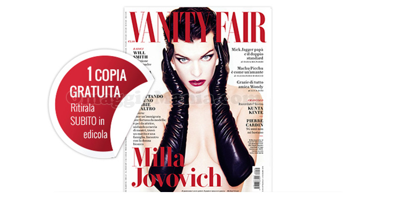 Vanity Fair 50 coupon omaggio