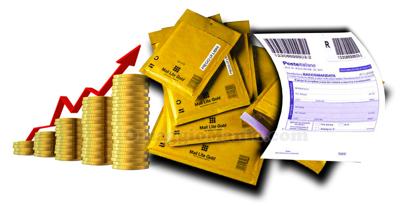 aumento tariffe posta raccomandata
