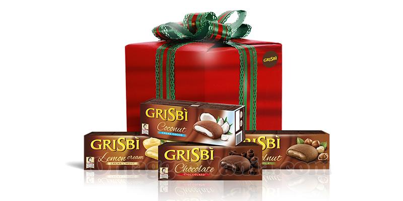 box Grisbì Xmas Edition