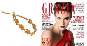 braccialetto Cruciani omaggio con Grazia