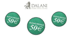 buoni regalo Dalani 50 euro