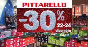 buono sconto PIttarello 22-24 dicembre 2016