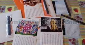 calendari omaggio Kinder di Marina