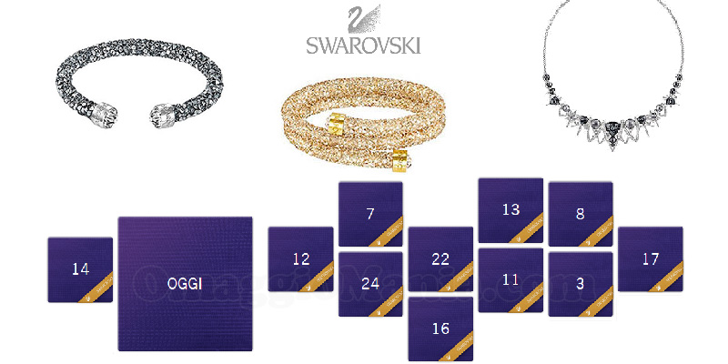 calendario dell'Avvento Swarovski 2016