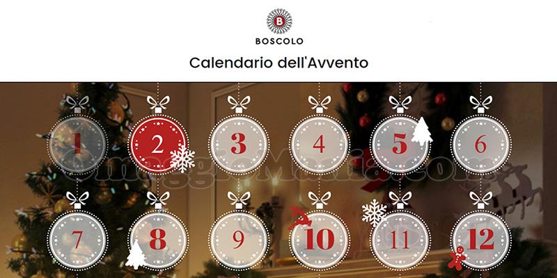 calendario Avvento Boscolo Gift 2016