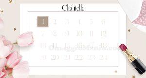 calendario Avvento Chantelle 2016
