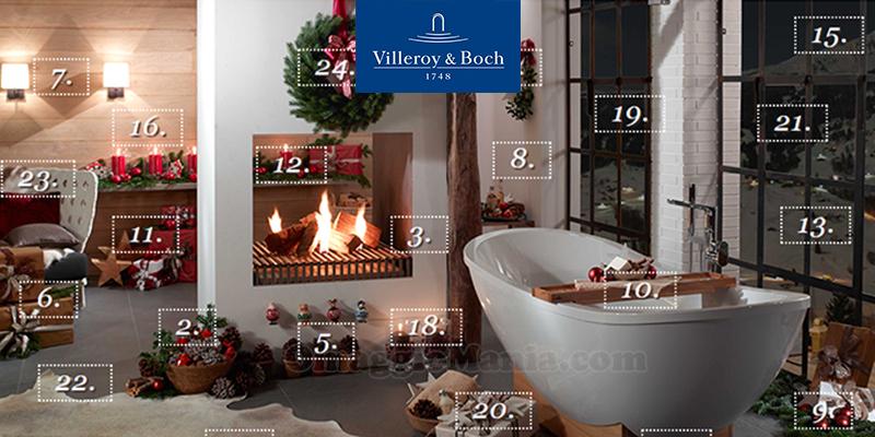 calendario dell 39 avvento villeroy boch omaggiomania. Black Bedroom Furniture Sets. Home Design Ideas