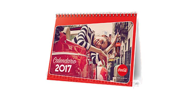 calendario Coca Cola 2017