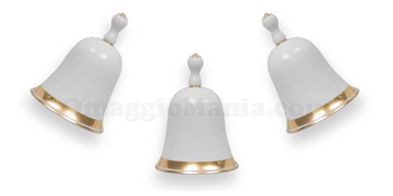campanelle di Natale artigianali