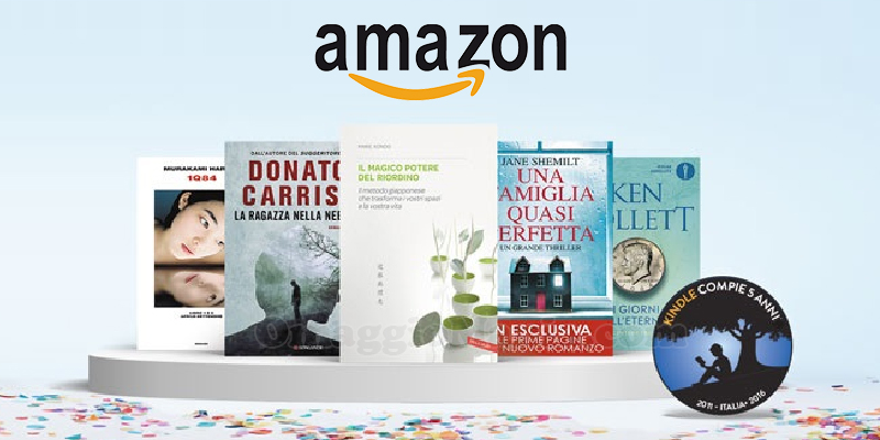 compleanno Amazon Kindle 2016