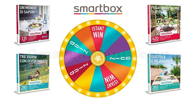concorso Smartbox La ruota del Natale