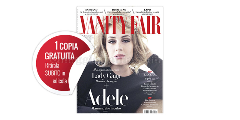 coupon copia omaggio Vanity Fair 49