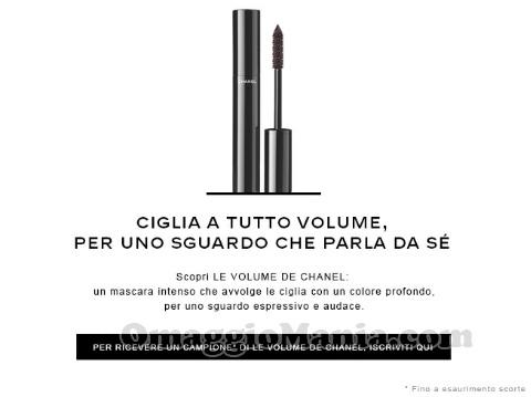 email campione omaggio Le Volume de Chanel di Sabry77 22 dicembre 2016