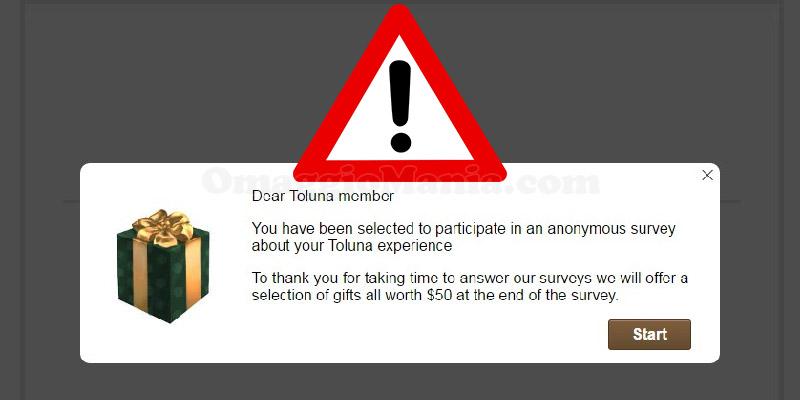 email truffa Toluna