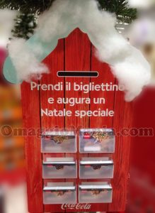 espositore bigliettini auguri di Natale di Tatiana