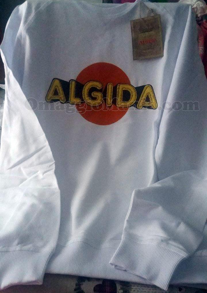 felpa Algida di Nadia