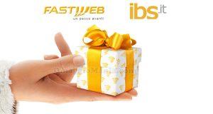 happy card IBS in regalo da Fastweb