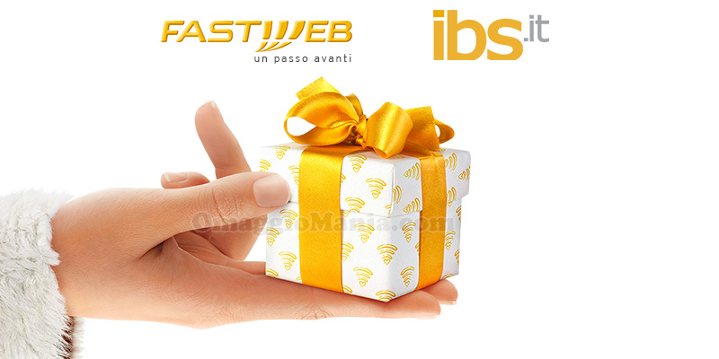 happy card IBS in regalo da Fastweb