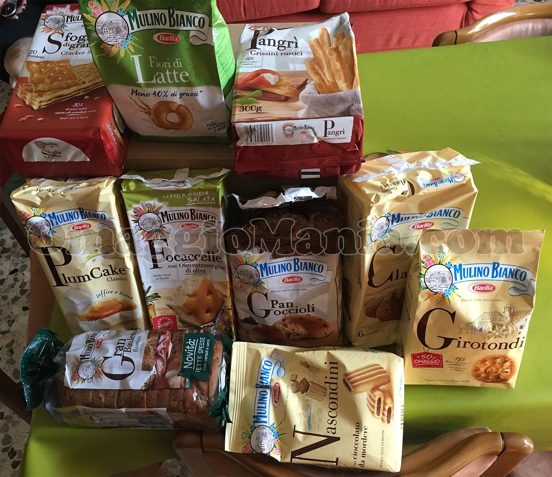 kit prodotti Mulino Bianco di Laura