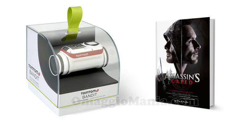 libro Assassin's Creed e TomTom Bandit