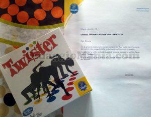 mini gioco Twister Hasbro con Chiquita di Giuliana