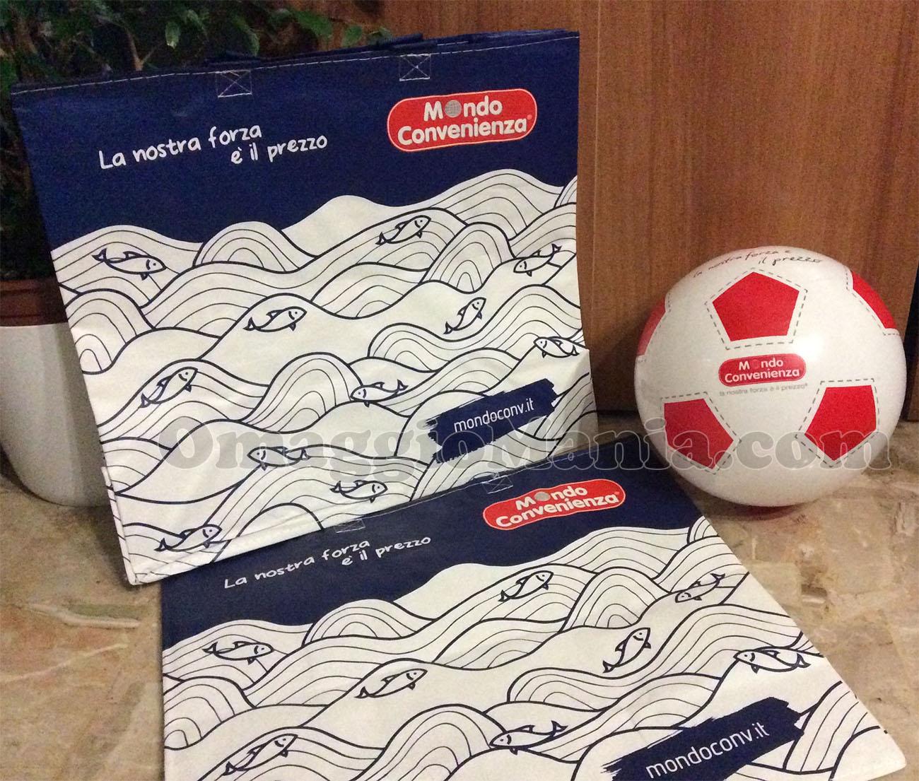 Palloni, shopper o borse frigo gratis da Mondo Convenienza ...