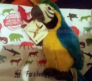 pappagallo peluche WWF di Nadia